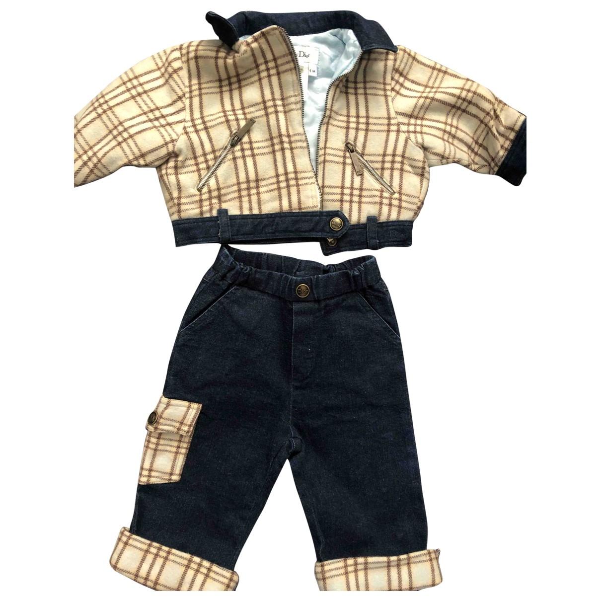 Baby Dior \N Sets in  Blau Denim - Jeans