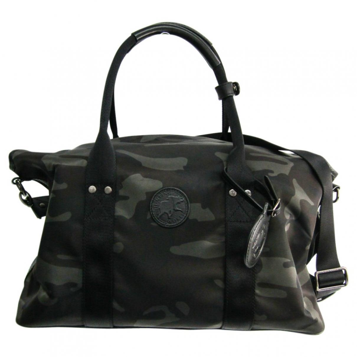 Non Signé / Unsigned \N Black bag for Men \N
