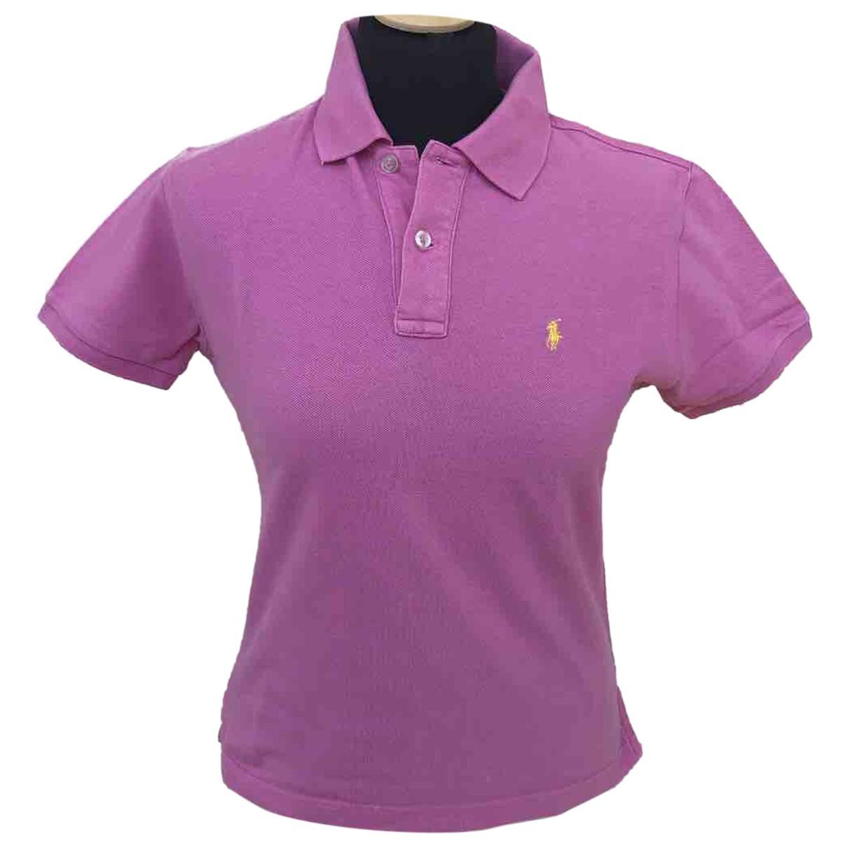 Ralph Lauren N Pink Cotton  top for Women XL International
