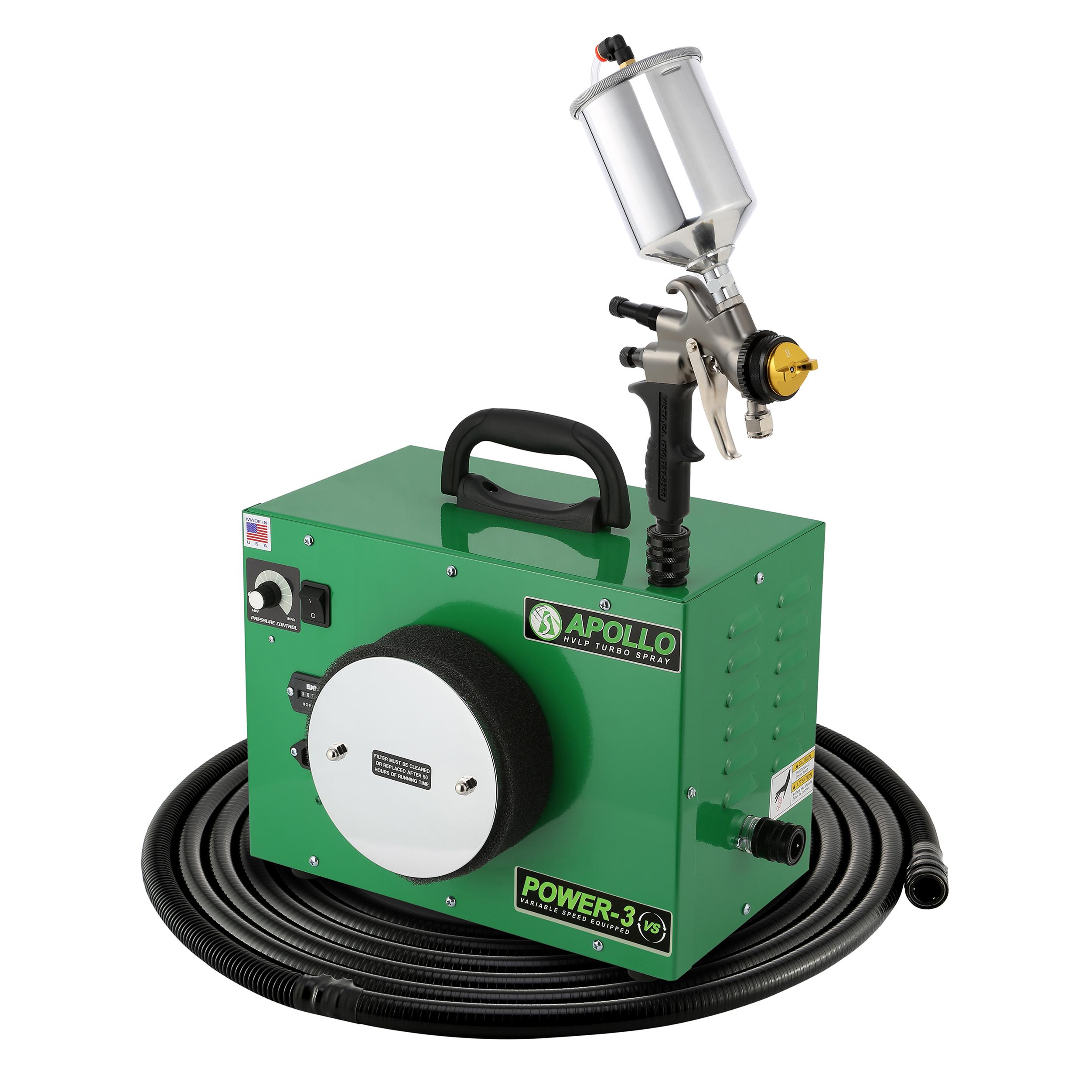 Power-3 VS HVLP Spray System with Gravity Feed Spray Gun