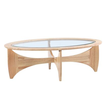 FMI10243-NATURAL Fine Mod Imports Opec Coffee Table in Natural