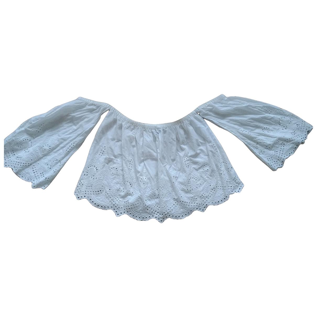 Zara - Top   pour femme - beige