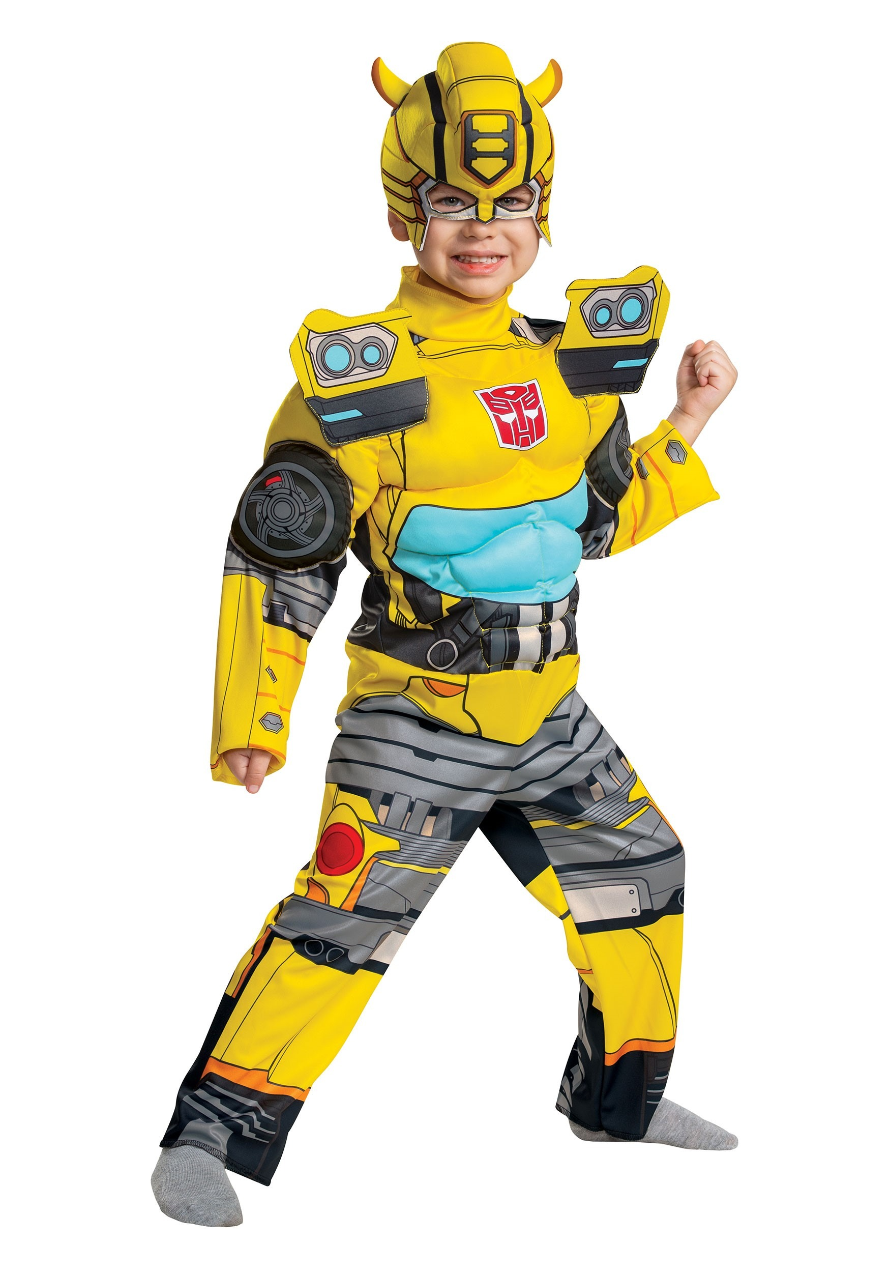 Transformers Muscle Bumblebee Toddler Costume