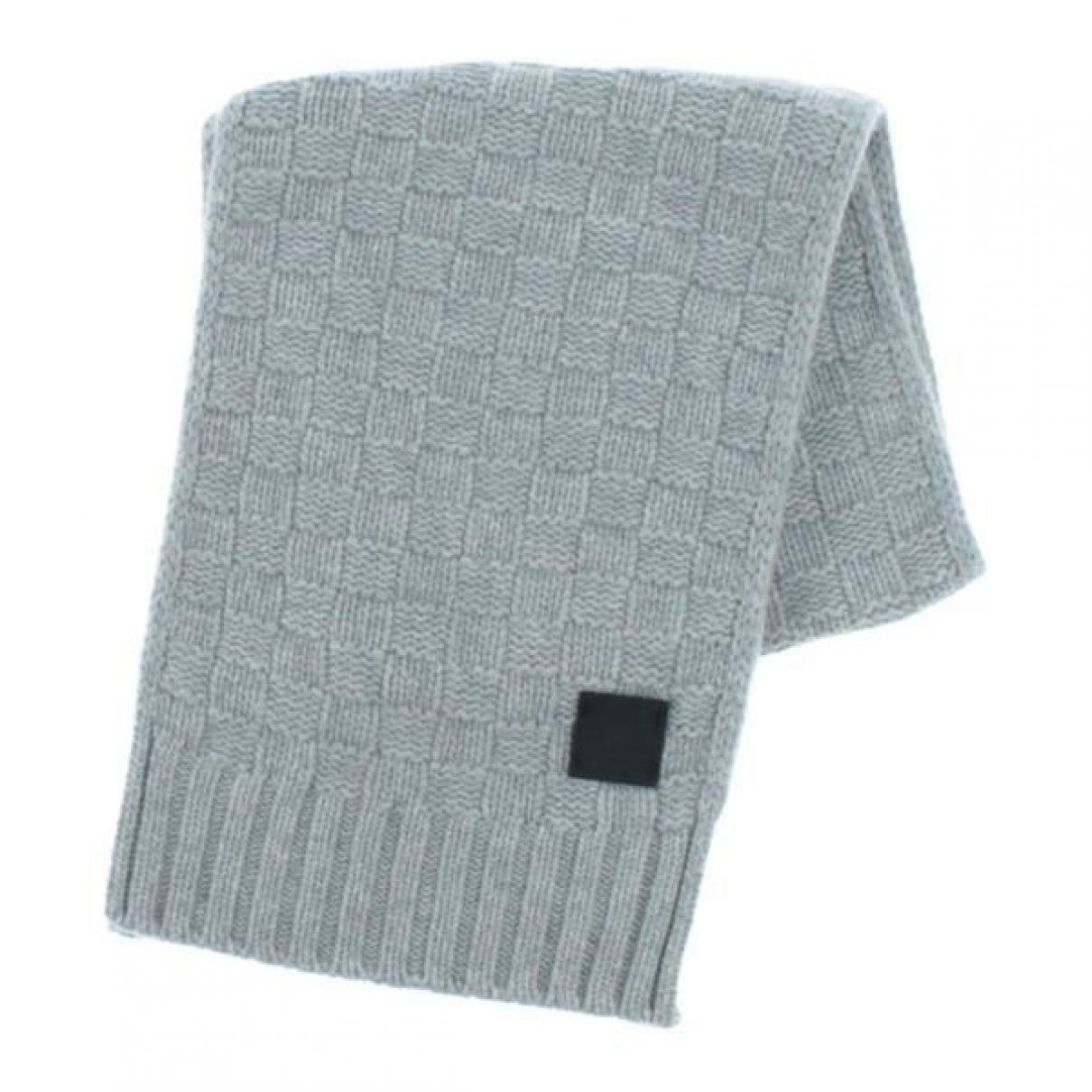 Louis Vuitton - Foulard   pour femme en cachemire - gris