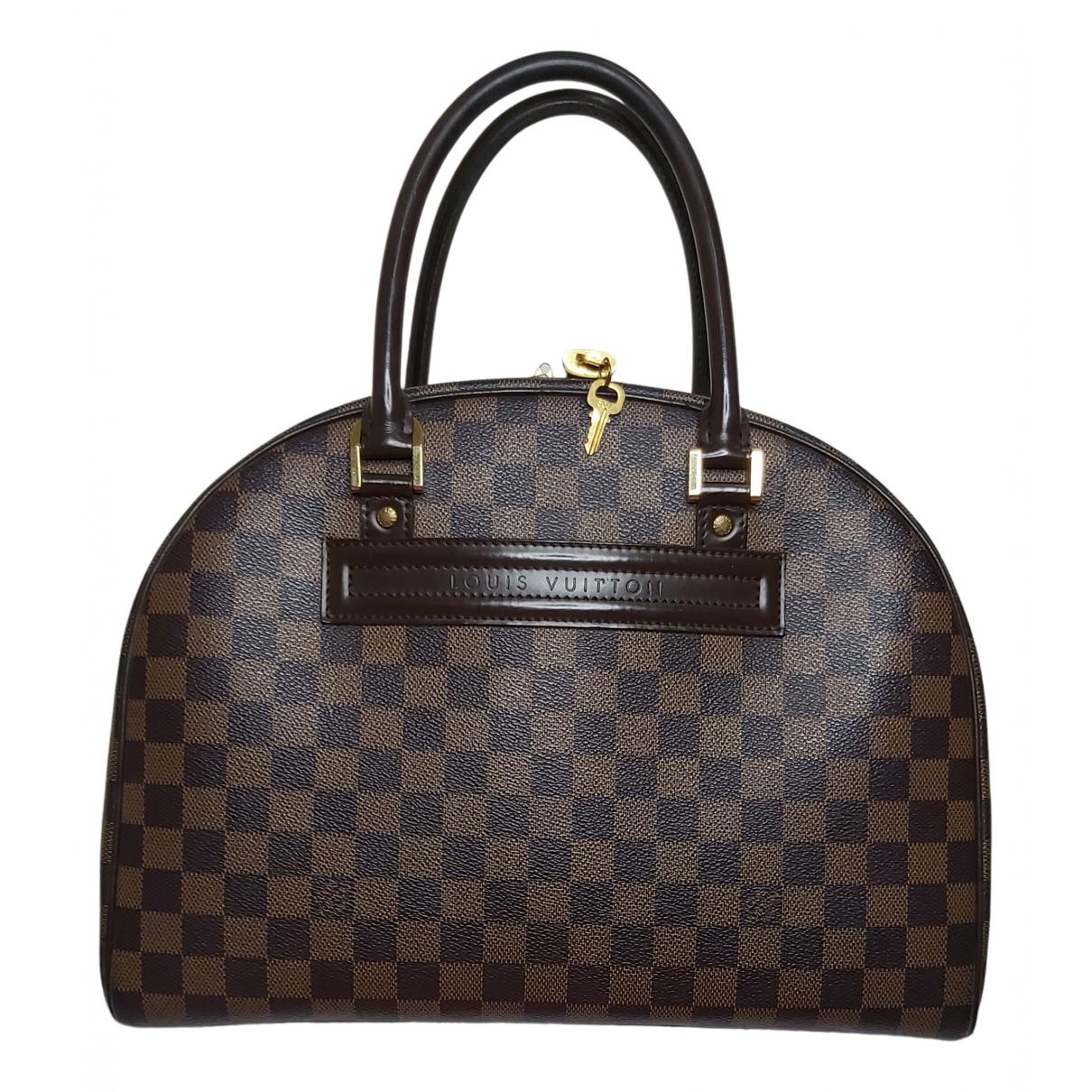 Louis Vuitton - Sac a main Nolita pour femme en toile - marron