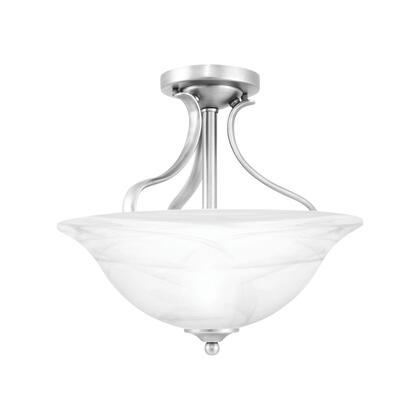 Sl842078 Prestige Ceiling Lamp Brushed Nickel