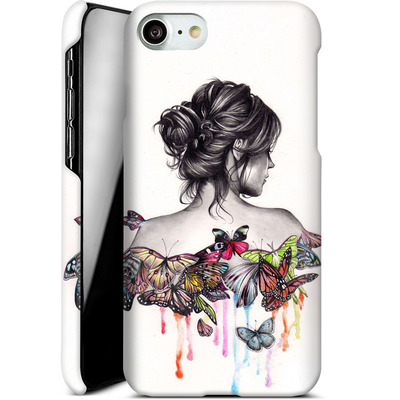 Apple iPhone 8 Smartphone Huelle - Butterfly Effect von Kate Powell