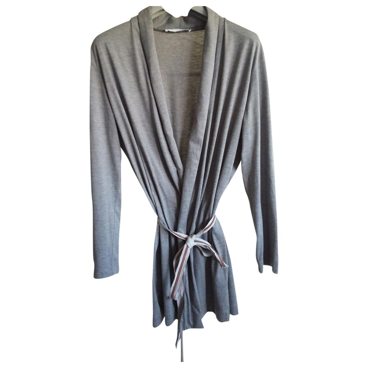 Fabiana Filippi - Pull   pour femme en coton - gris