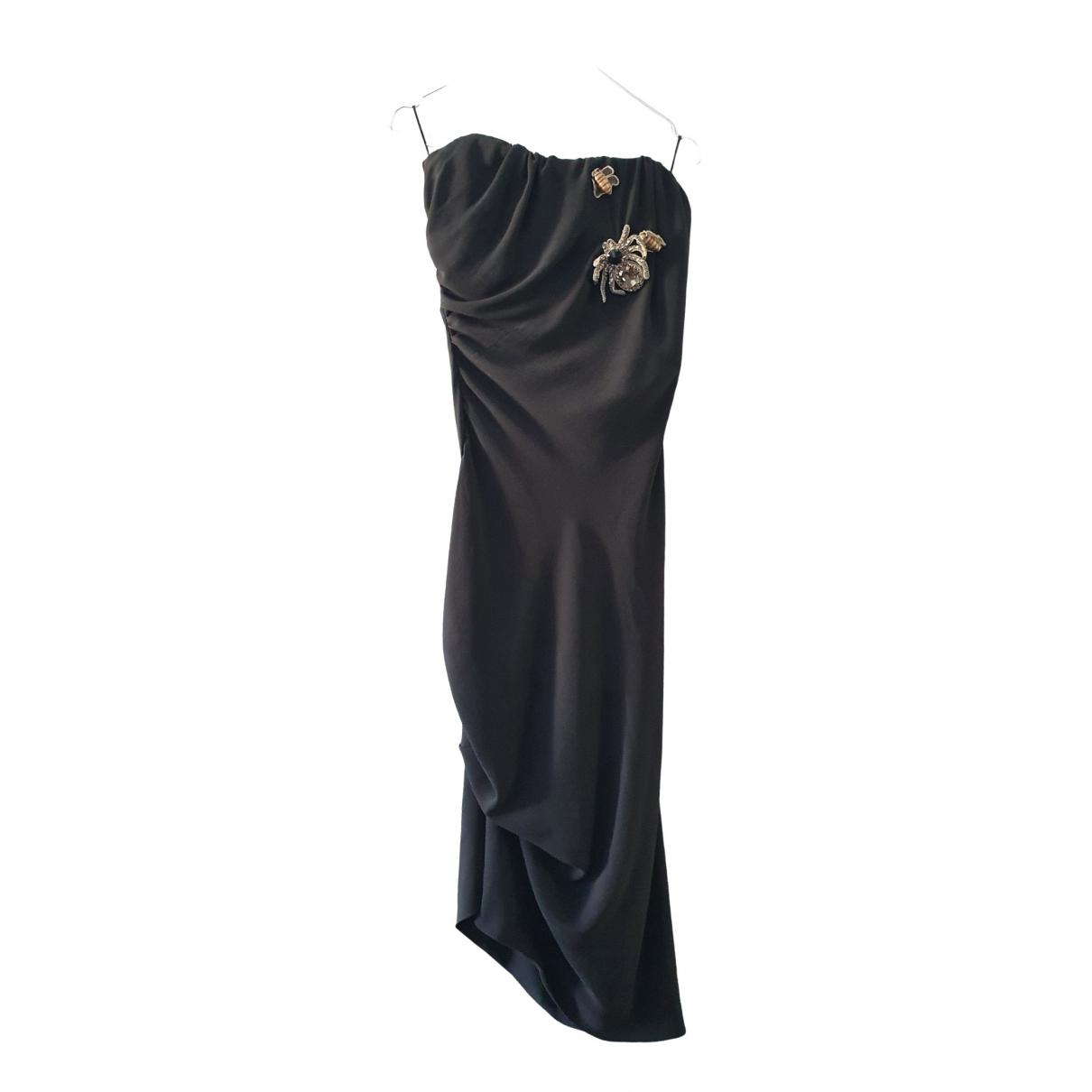 Vivienne Westwood \N Kleid in  Schwarz Seide