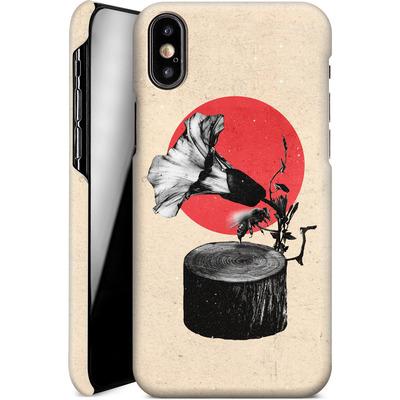 Apple iPhone X Smartphone Huelle - Gramophone von Ali Gulec