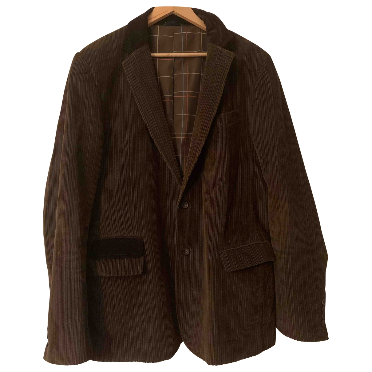 D&g \N Brown Velvet jacket for Women 40 FR