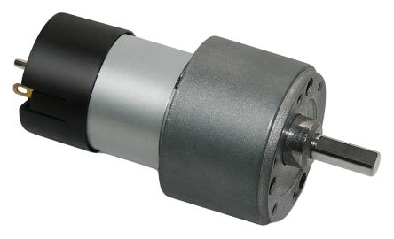 Micromotors , 24 V dc, 15 Ncm DC Geared Motor, Output Speed 110 rpm