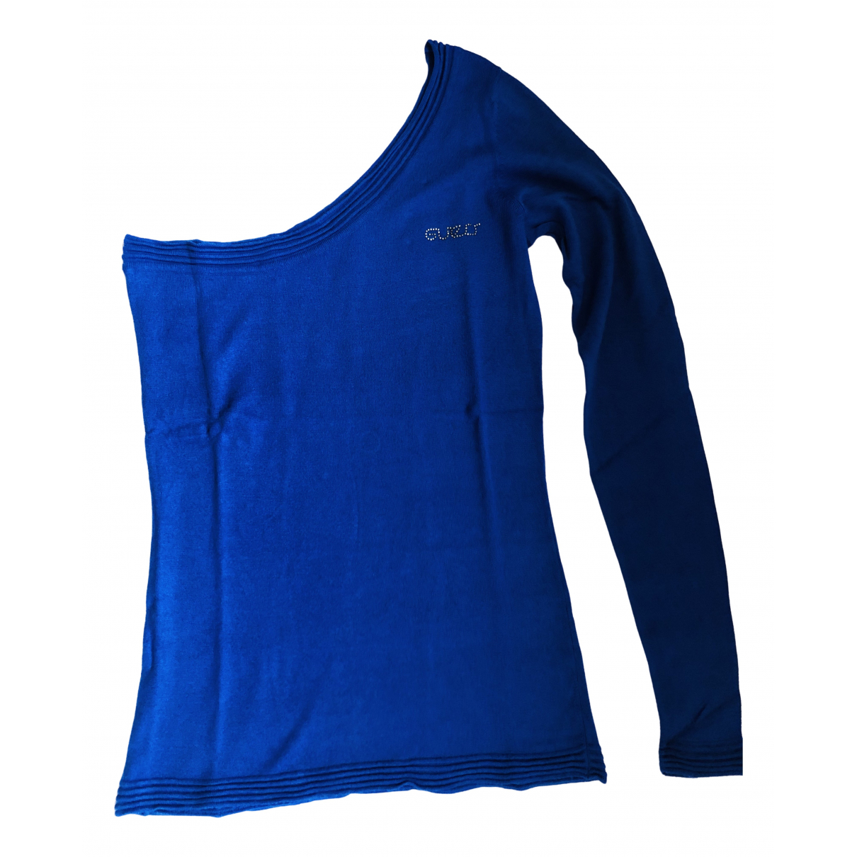 Guess N Blue Cotton  top for Women S International