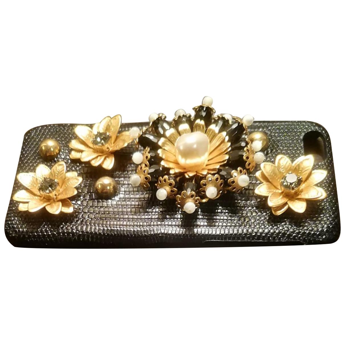 Dolce & Gabbana - Accessoires   pour lifestyle en cuir exotique - multicolore