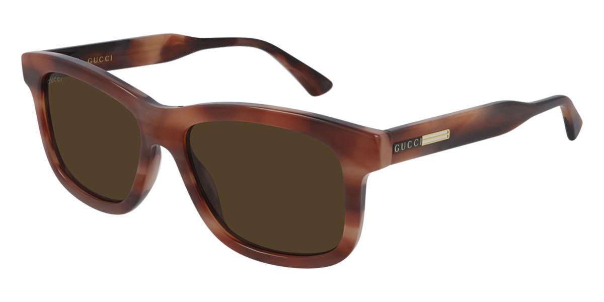 Gucci GG0824S 007 Men's Sunglasses Tortoise Size 55 - Free RX Lenses