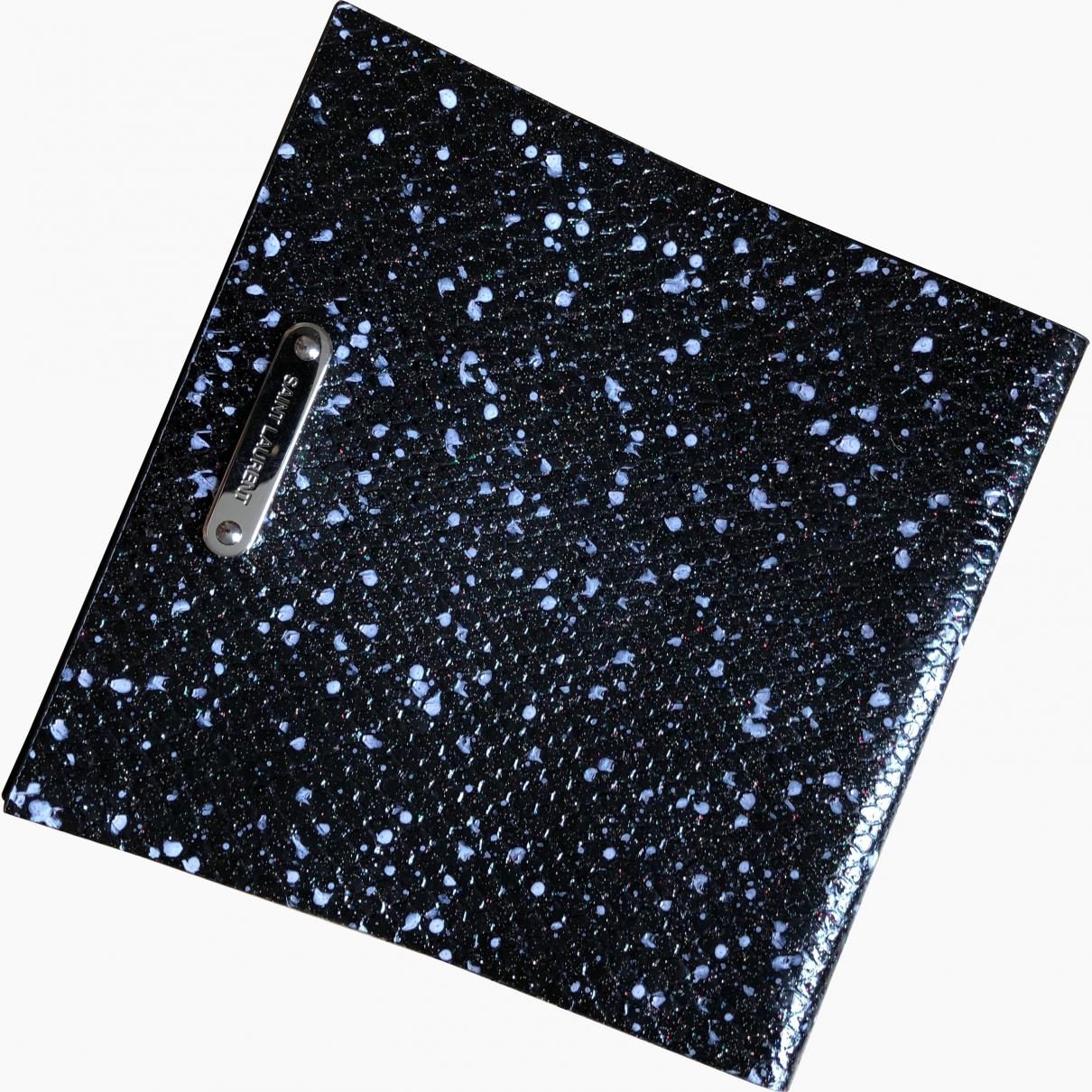 Saint Laurent \N Black Glitter Clutch bag for Women \N