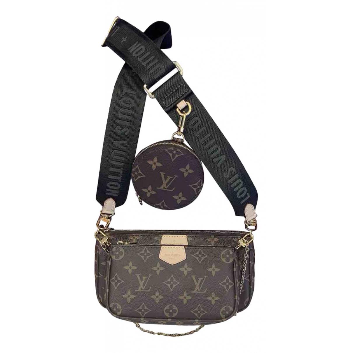 Louis Vuitton Multi Pochette Access Brown Cloth handbag for Women N