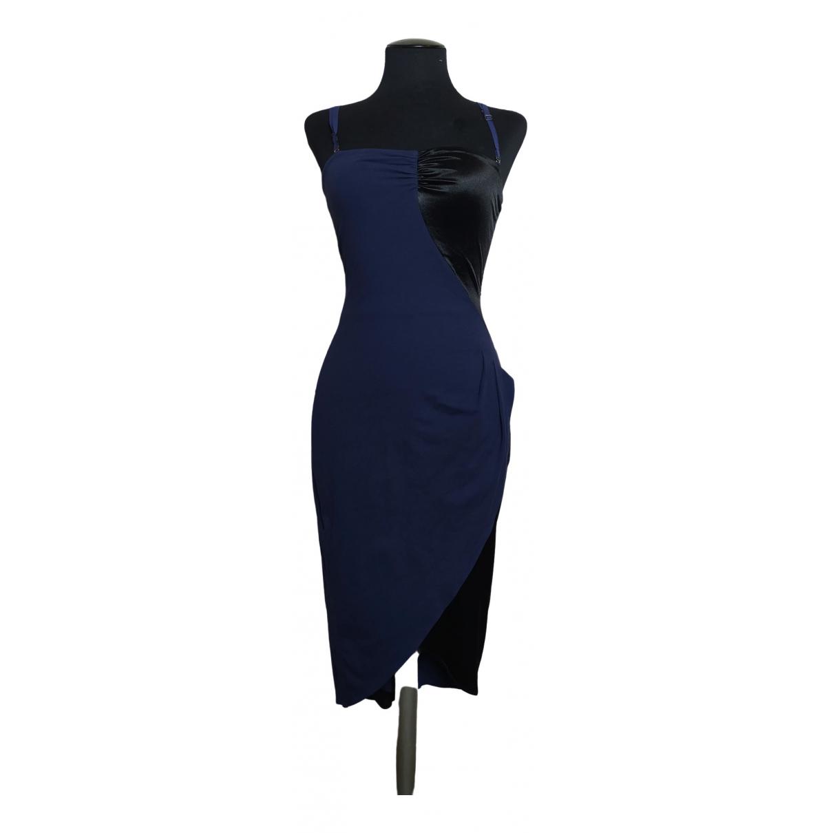 Armani Jeans \N Navy Cotton - elasthane dress for Women S International