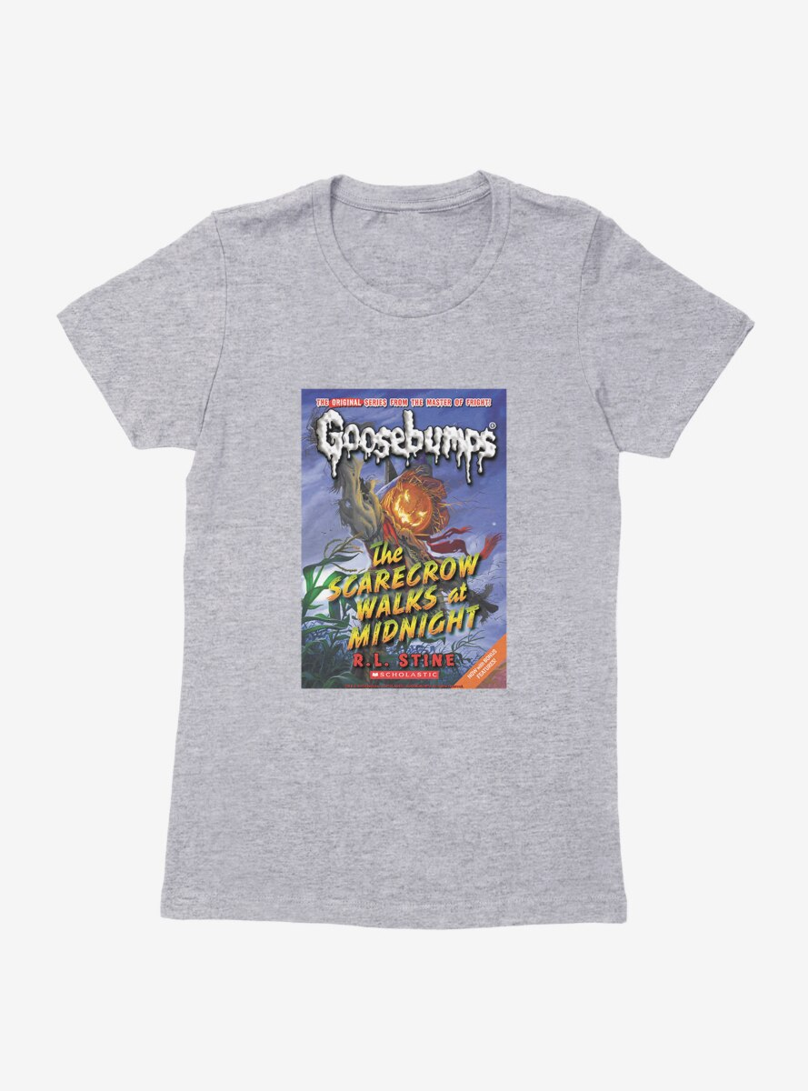 Goosebumps The Scarecrow Walks At Midnight Book Womens T-Shirt