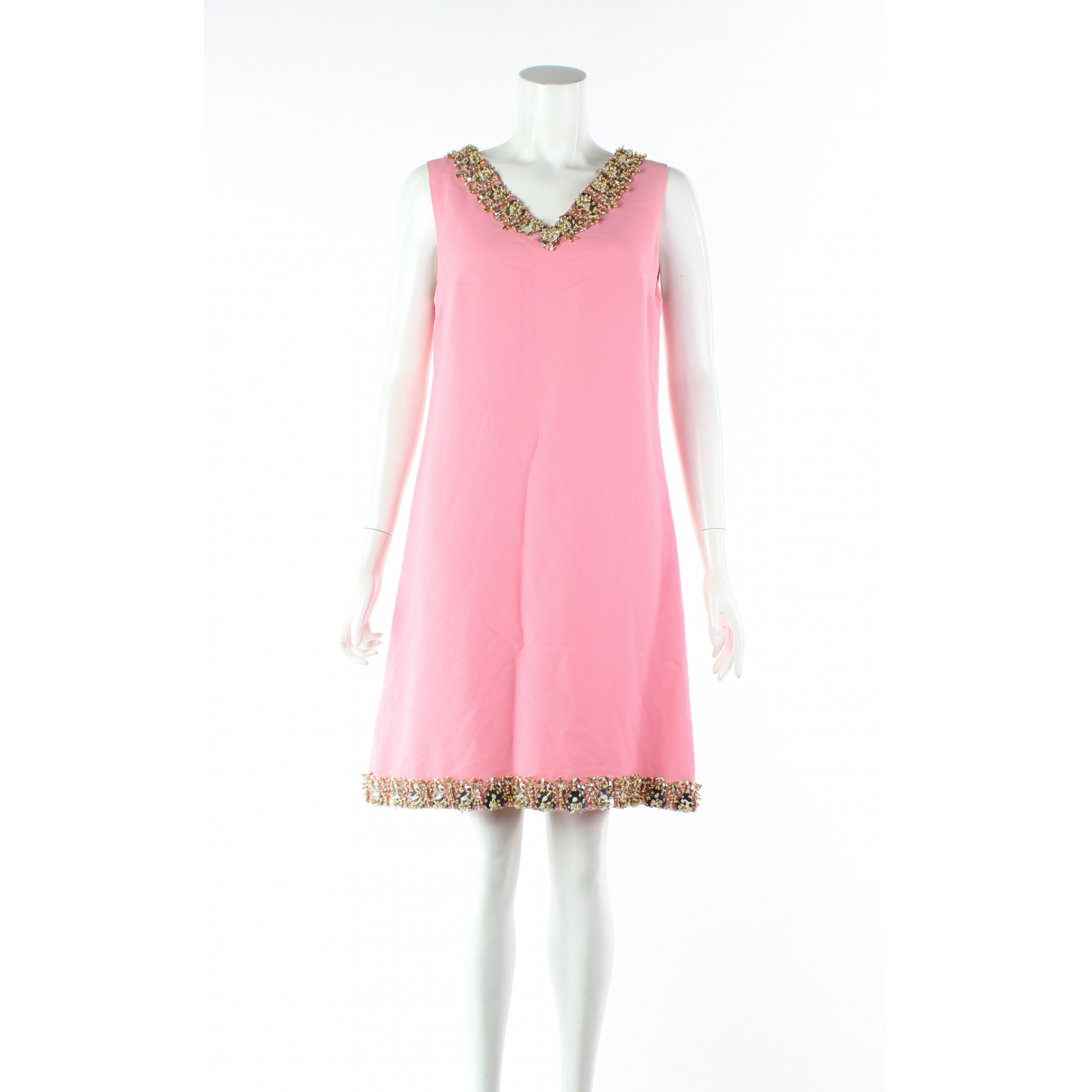 Miu Miu \N Kleid in  Rosa Synthetik