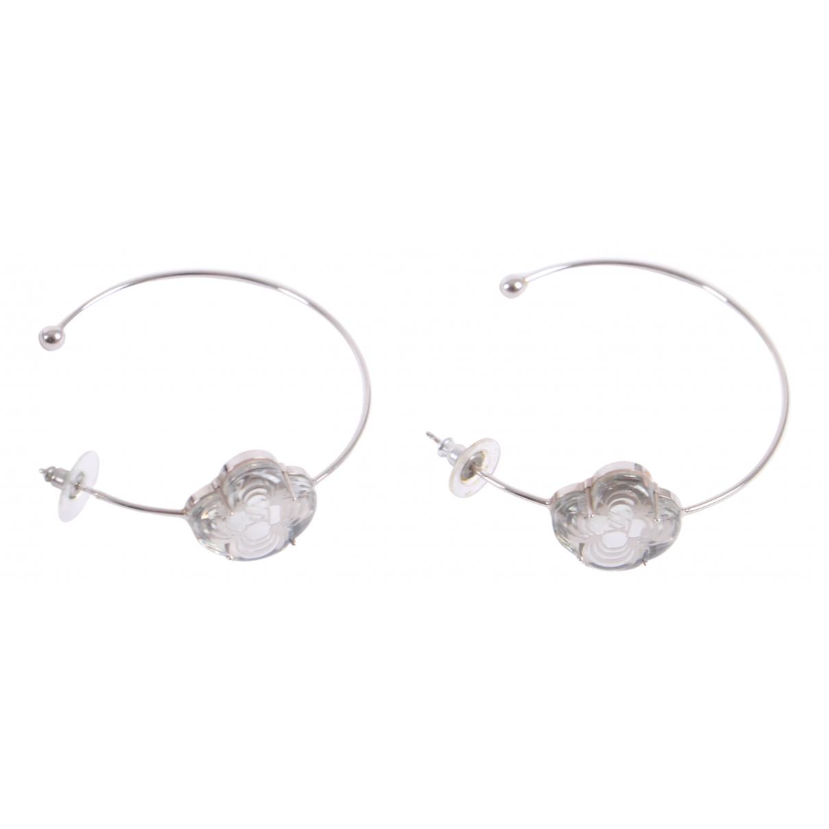 Louis Vuitton - Boucles doreilles   pour femme en metal - argente