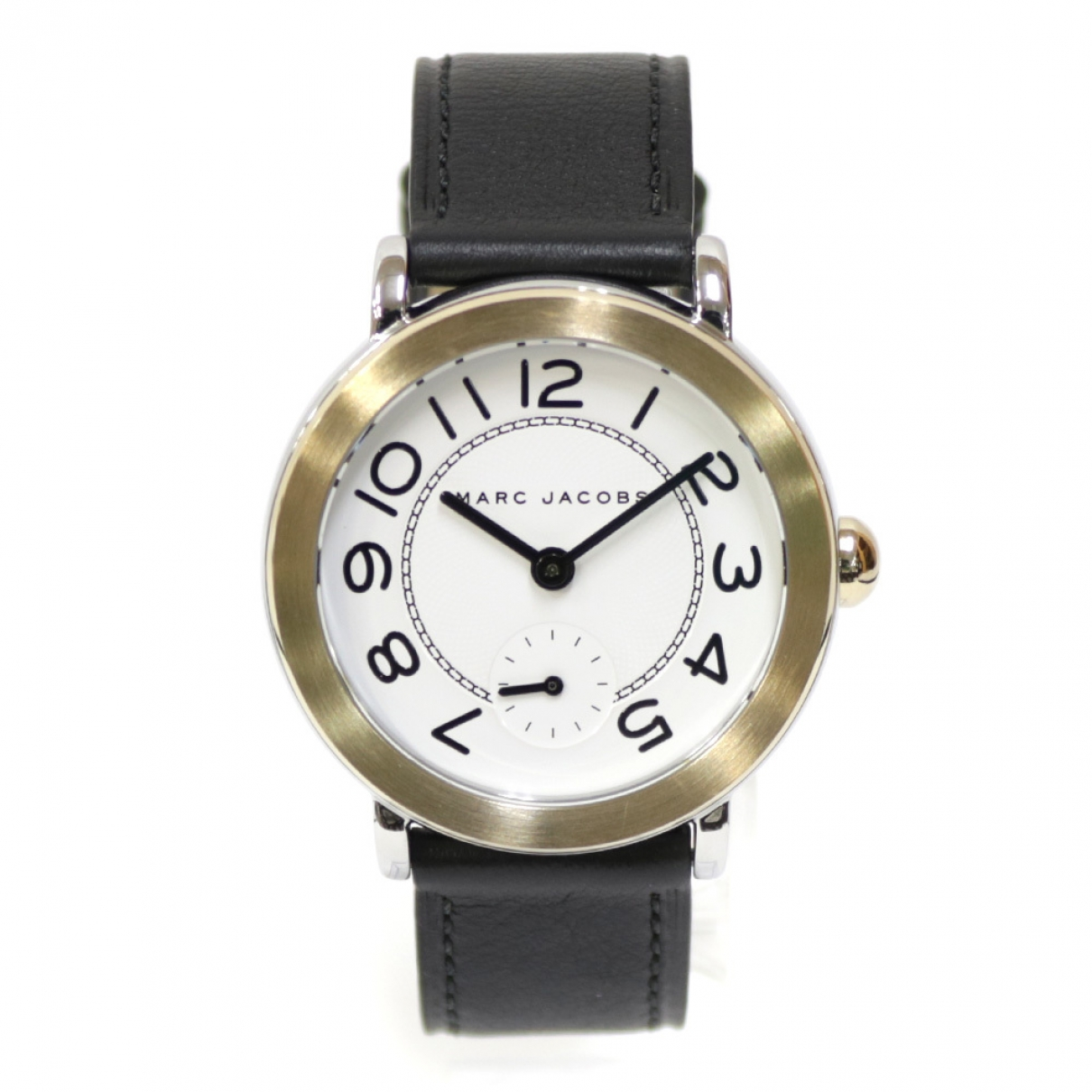 Marc Jacobs \N Uhr in  Schwarz Stahl