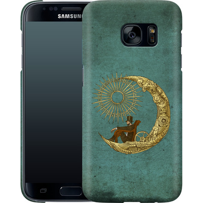 Samsung Galaxy S7 Smartphone Huelle - Moon Travel von Eric Fan