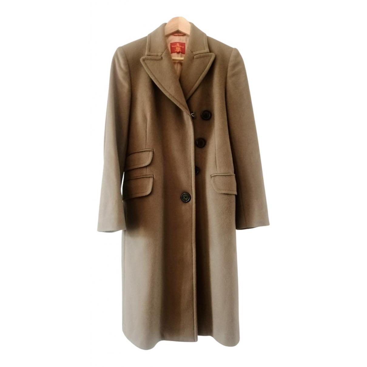 Vivienne Westwood Red Label \N Maentel in  Braun Wolle