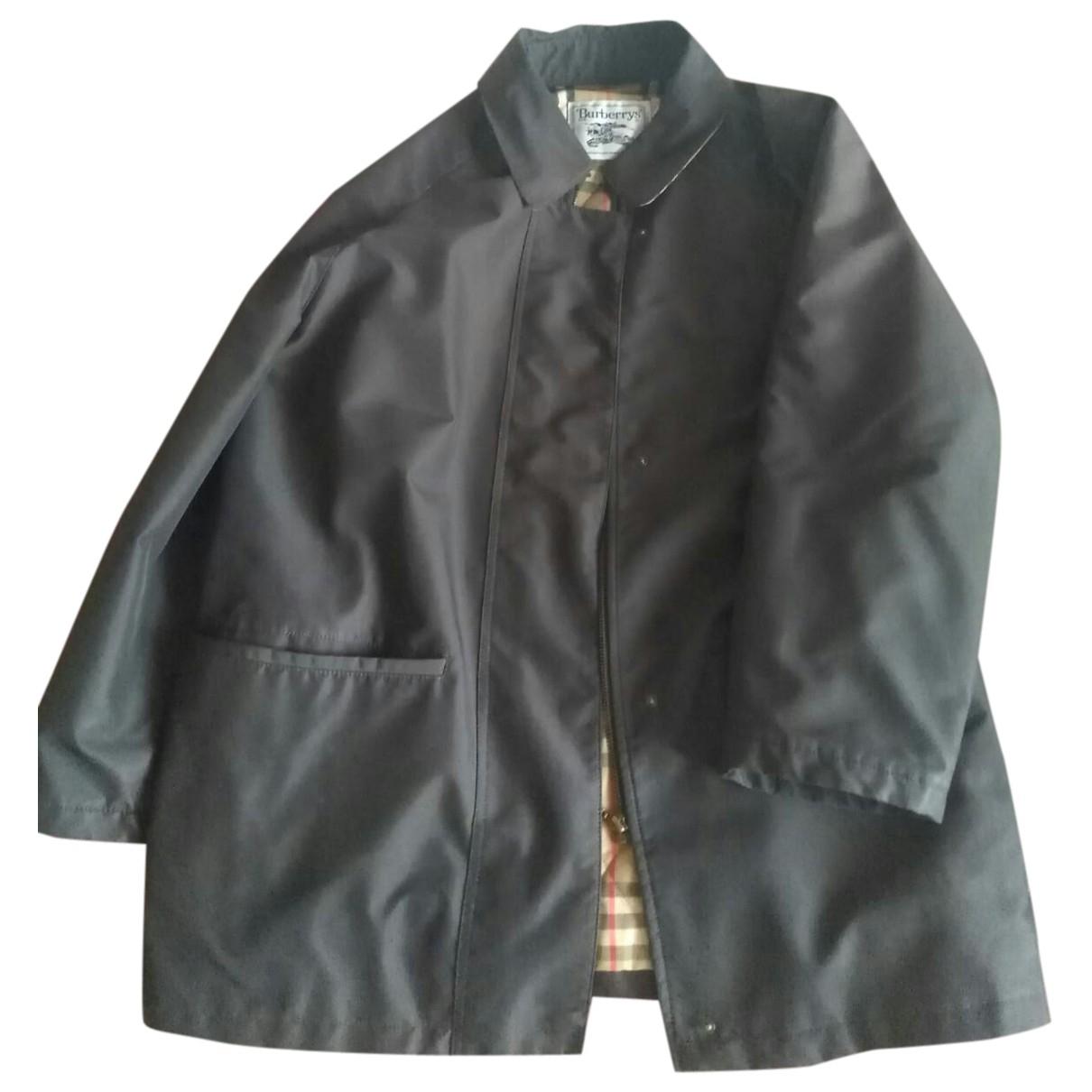 Burberry - Manteau   pour homme - marron