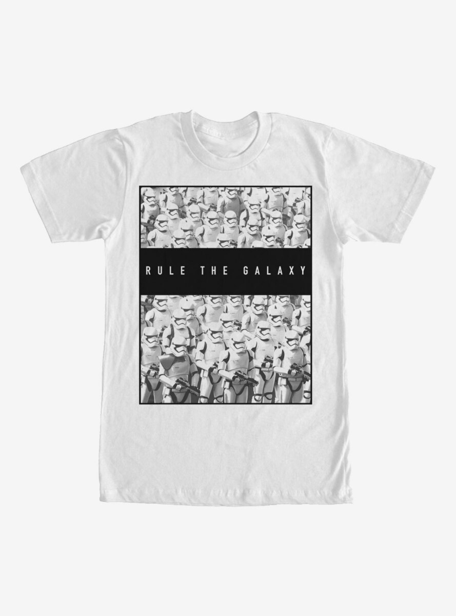 Star Wars The Force Awakens Stormtroopers Rule the Galaxy T-Shirt
