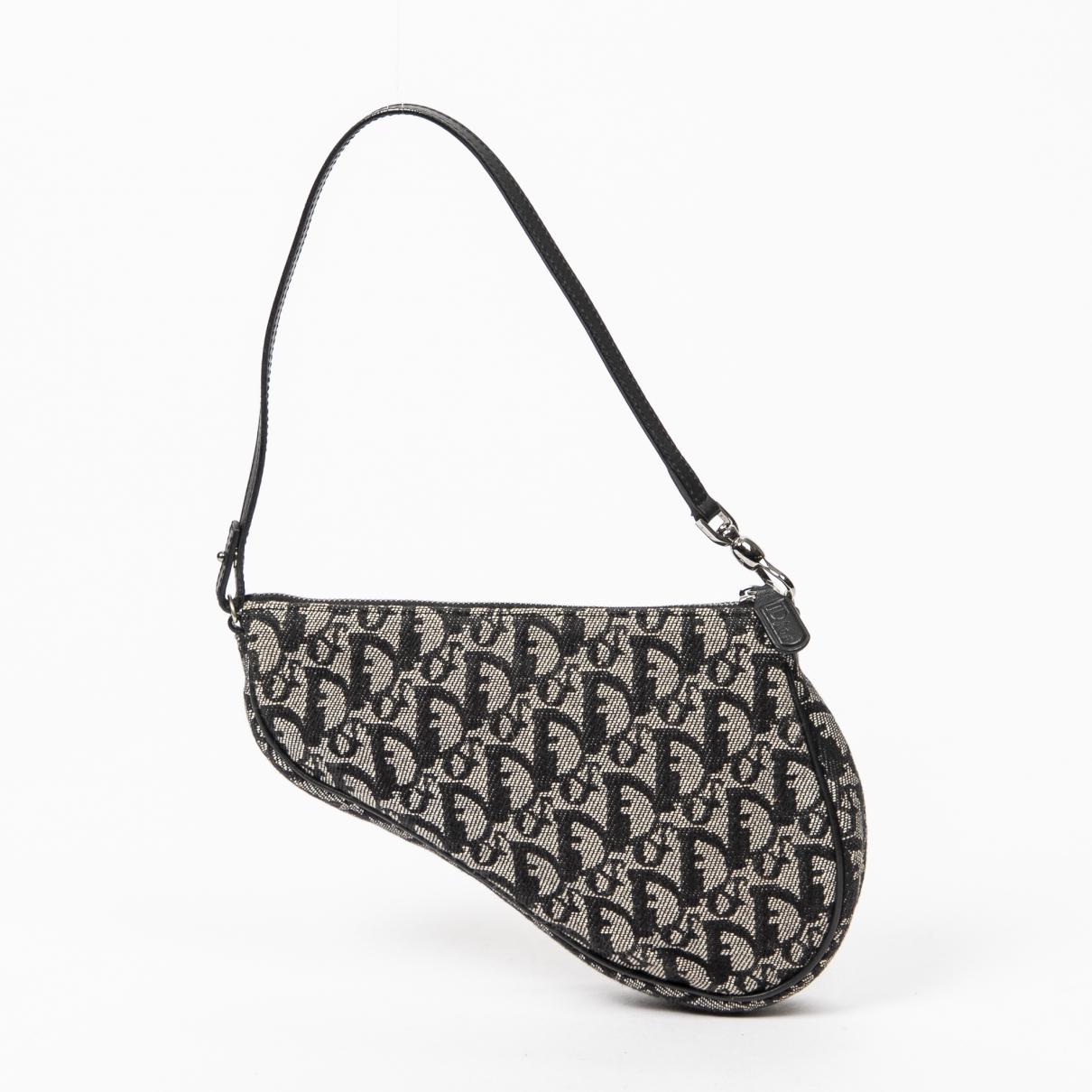 Dior Saddle Black Cotton Clutch bag for Women \N