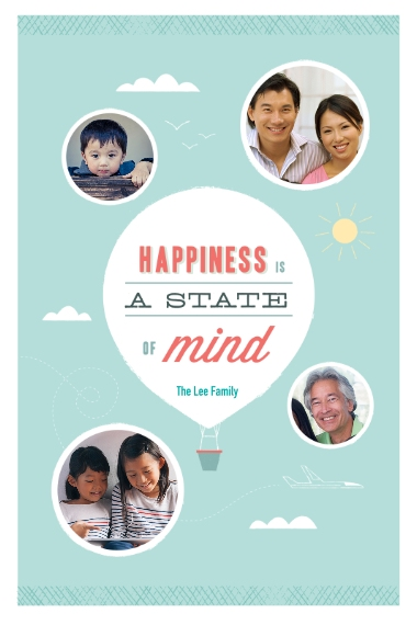 Family + Friends 20x30 Poster, Home Décor -State Of Happiness