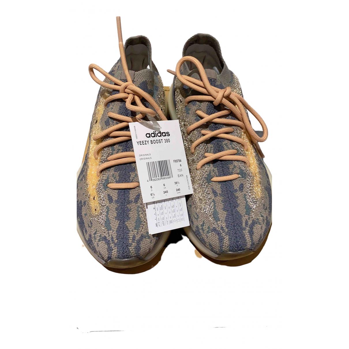 Yeezy X Adidas Boost 380 Sneakers in  Grau Kautschuk