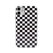 1 Stueck iPhone Etui mit Karo Muster