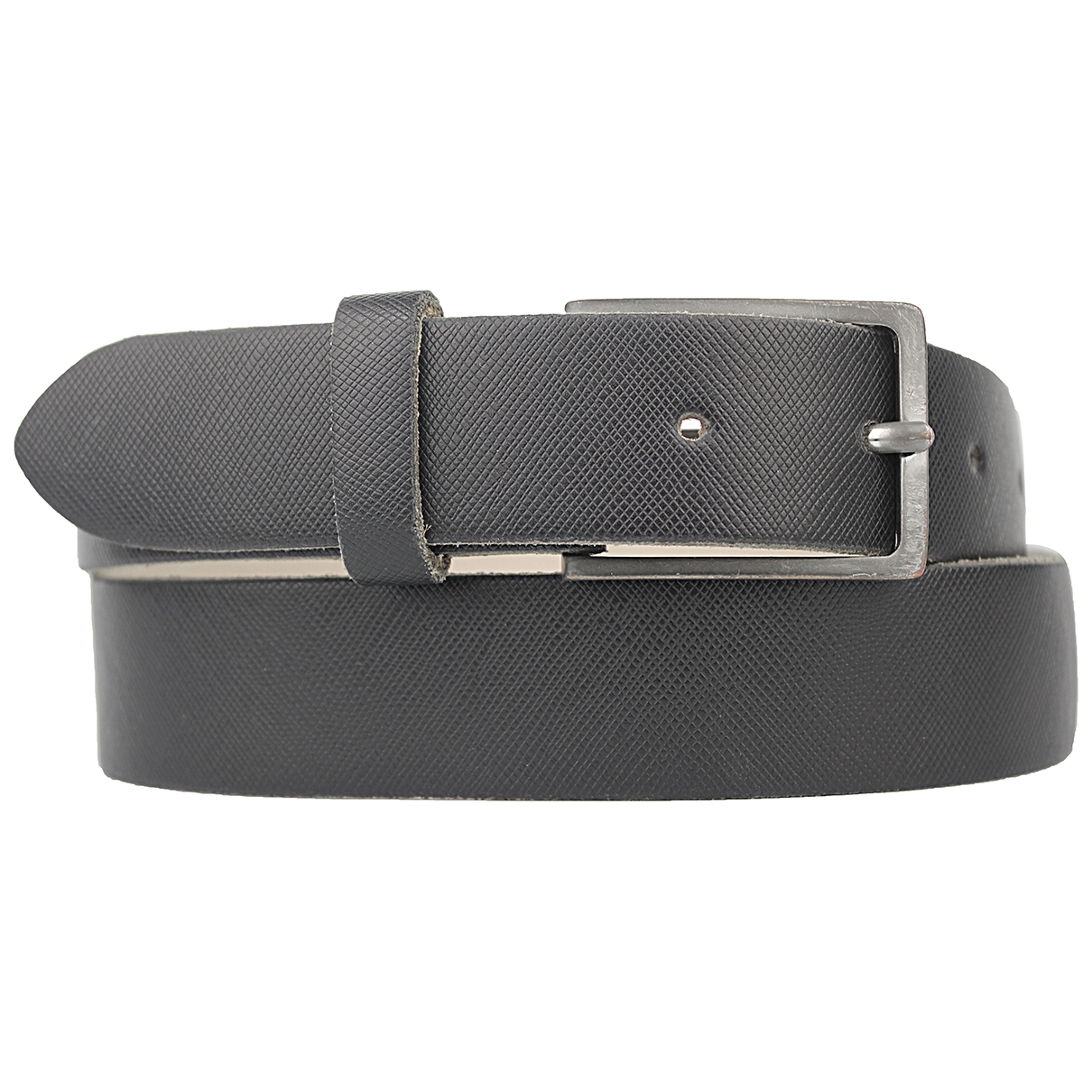 Non Signé / Unsigned \N Black Leather belt for Men M international