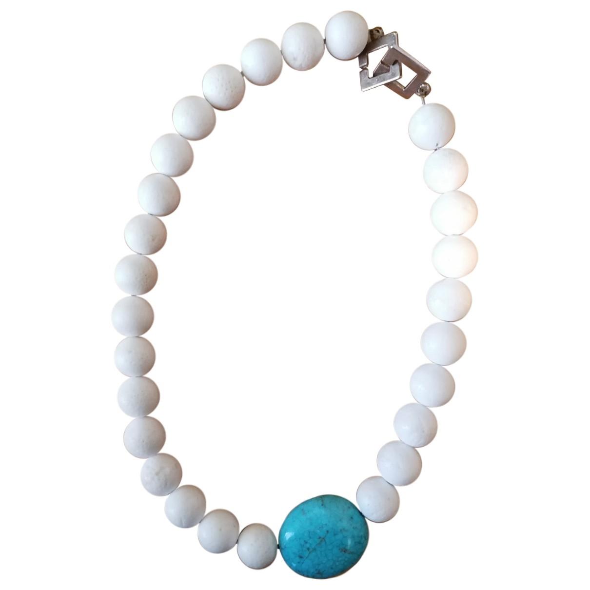 - Collier   pour femme en perles - turquoise