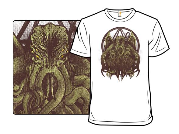 Cthulhu Calls T Shirt