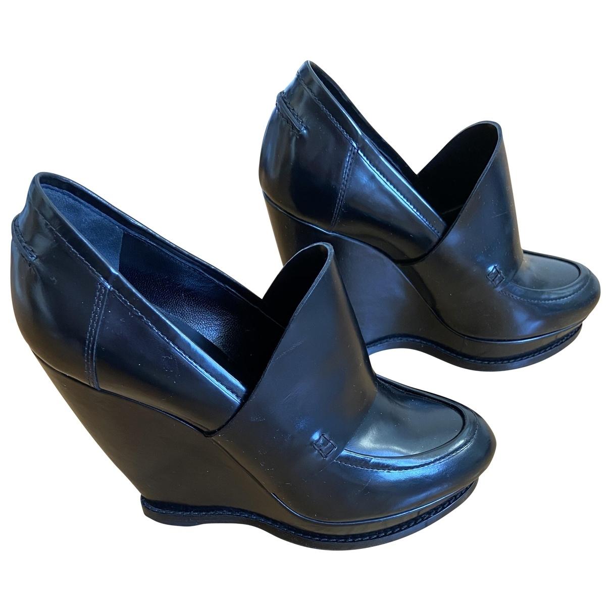 Balenciaga - Escarpins   pour femme en cuir - noir