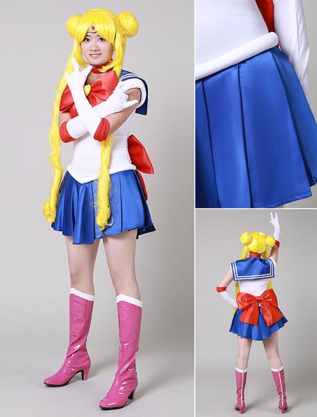 Milanoo Sailor Moon Tsukino Usagi Cosplay Costumes Halloween