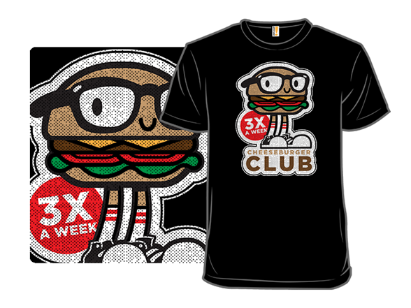 Cheeseburger Club T Shirt