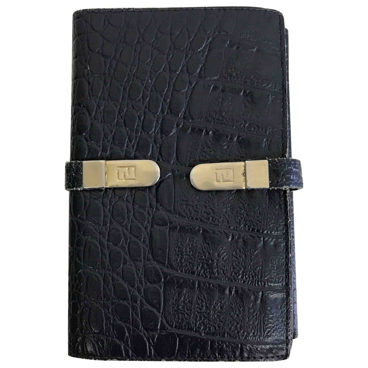 Fendi \N Blue Exotic leathers Purses, wallet & cases for Women \N