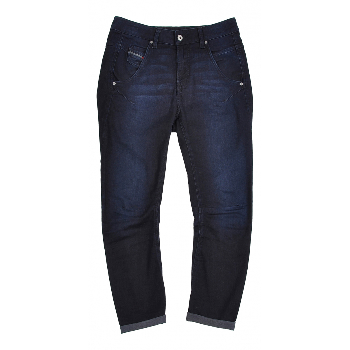 Diesel \N Navy Cotton - elasthane Jeans for Women 25 US