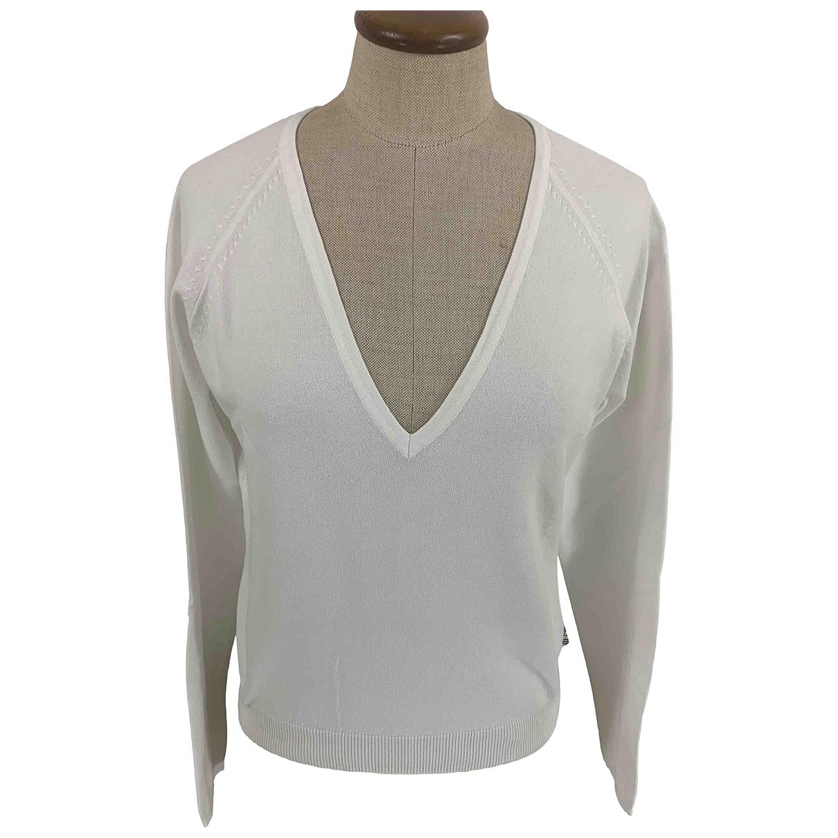 Burberry \N White Cotton Knitwear for Women M International