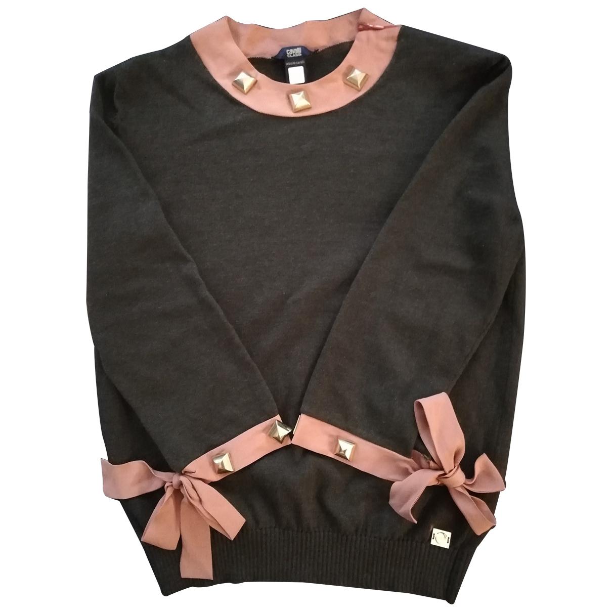 Roberto Cavalli \N Green Cotton Knitwear for Women 38 FR