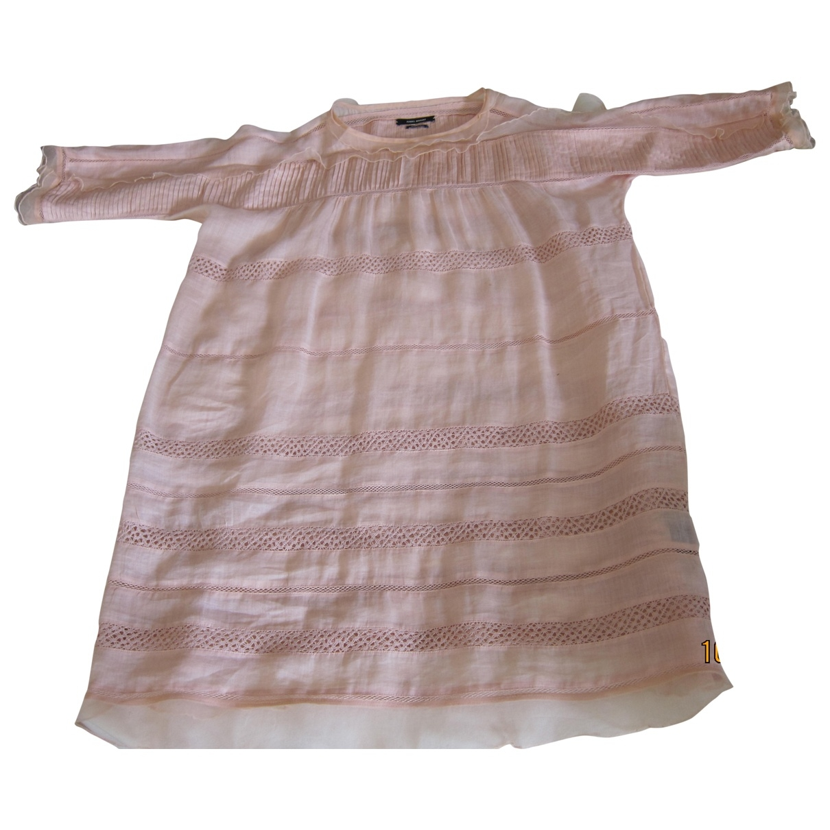 Isabel Marant \N Pink Silk dress for Women 38 FR