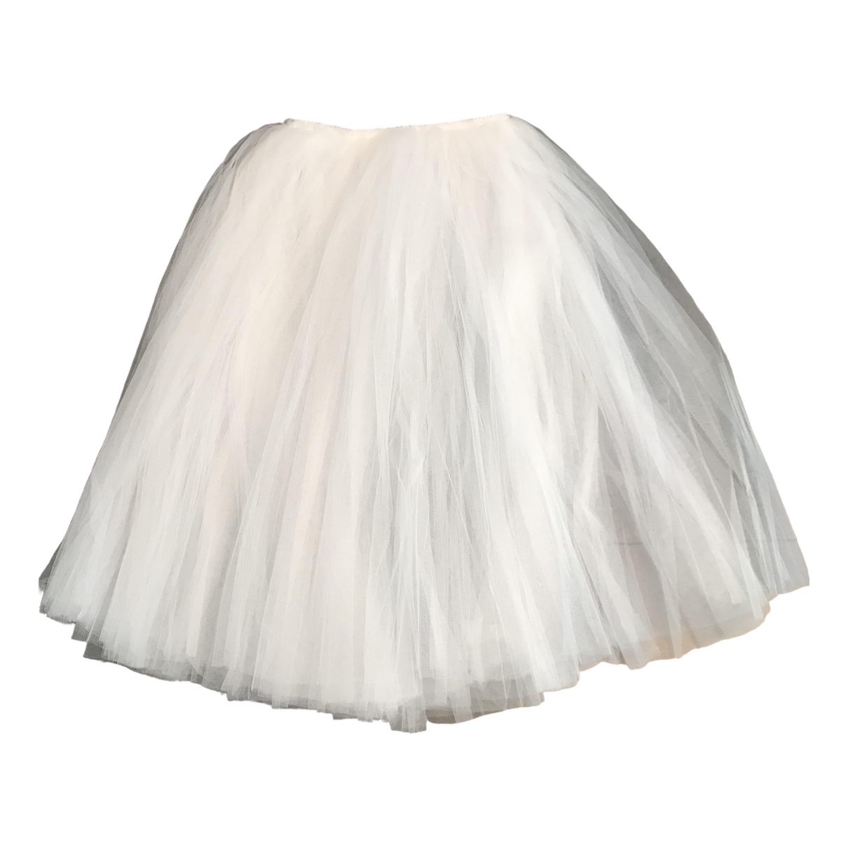 Repetto \N Rocke in  Weiss Polyester