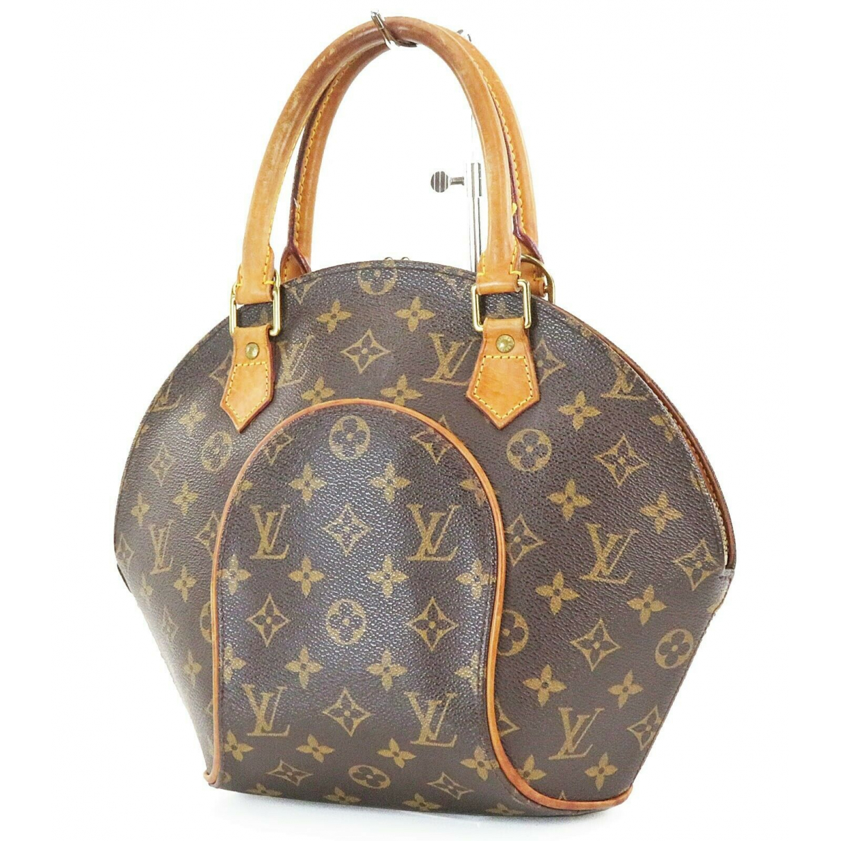 Louis Vuitton \N Handtasche in  Braun Leder