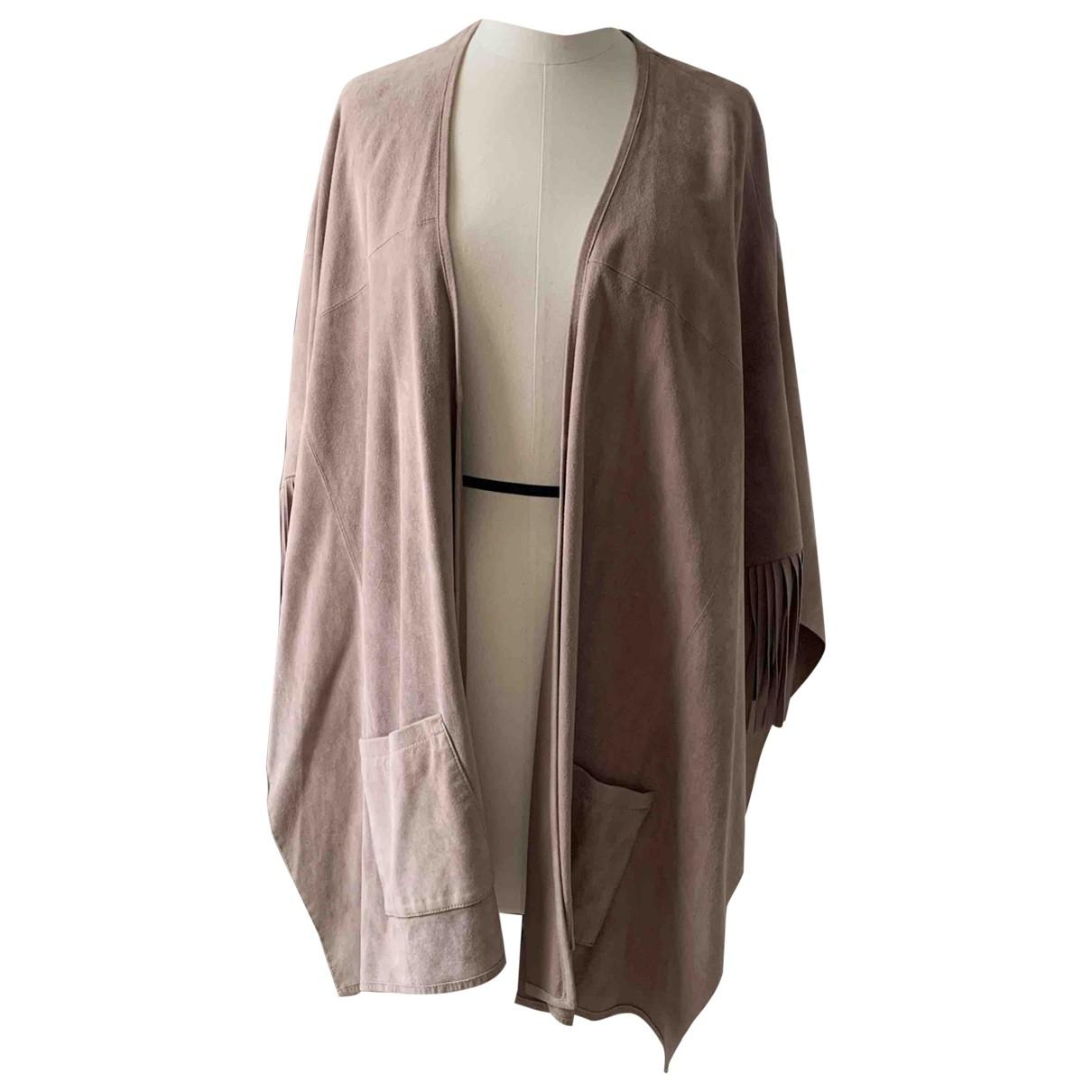 Steffen Schraut \N Leather Leather jacket for Women 38 IT
