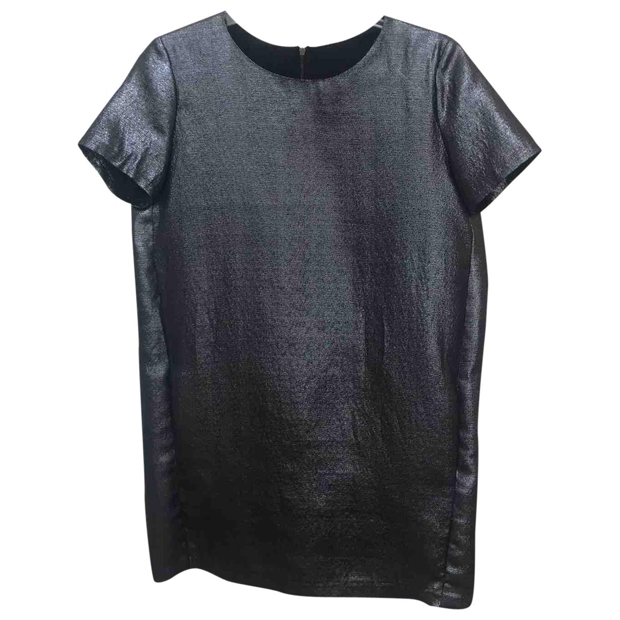 Maje \N Kleid in  Grau Polyester