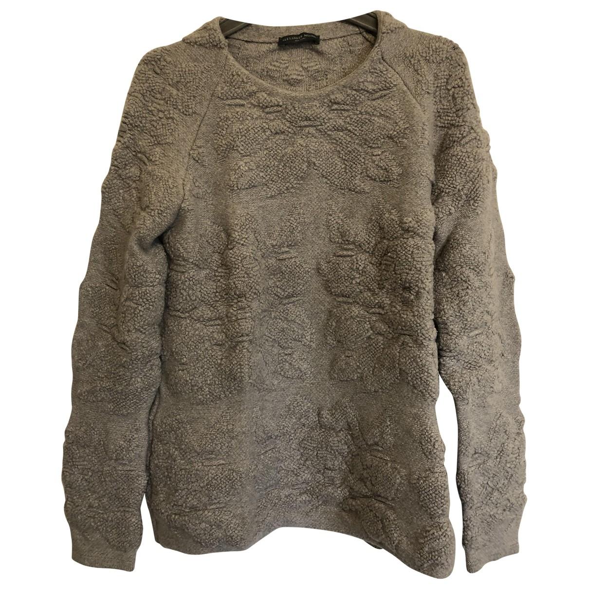 Alexander Mcqueen \N Grey Wool Knitwear for Women M International
